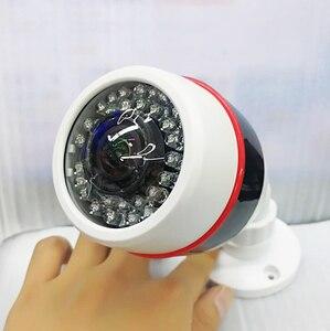 Image 3 - 1.7 millimetri Super wide Angle Panorama CCTV AHD Fotocamera 5MP 4MP 3MP 1080P SONYIMX326 Fisheye Lens 3D ball effetto di Sicurezza a raggi infrarossi Video
