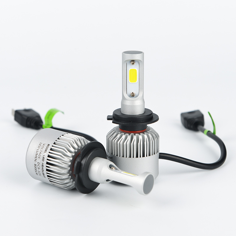 H4 H7 H11 9005 9006 H13 Car LED Headlight Bulbs 80W 8000LM COB Chips All in one LED Headlamp Fog Lamp 6500K 12V