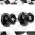 M6 braço oscilante Sliders carretéis suporte parafusos para Yamaha YZF R1 R6 R6S MT-09 FZ-09 FZ1 FZ6 FZ8 XJR 1300 R25 R3 negro