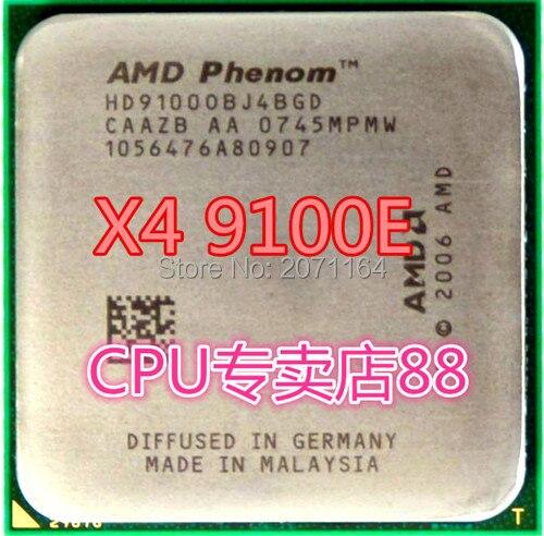 Для AMD Phenom X4 9100e Socket AM2 + 940-контактный четырехъядерный процессор 1.8 Г 65 Вт