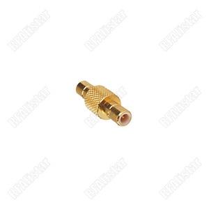 10 peças rf antena smb adaptador macho para smb macho plug gold-plated conector adaptador em-series