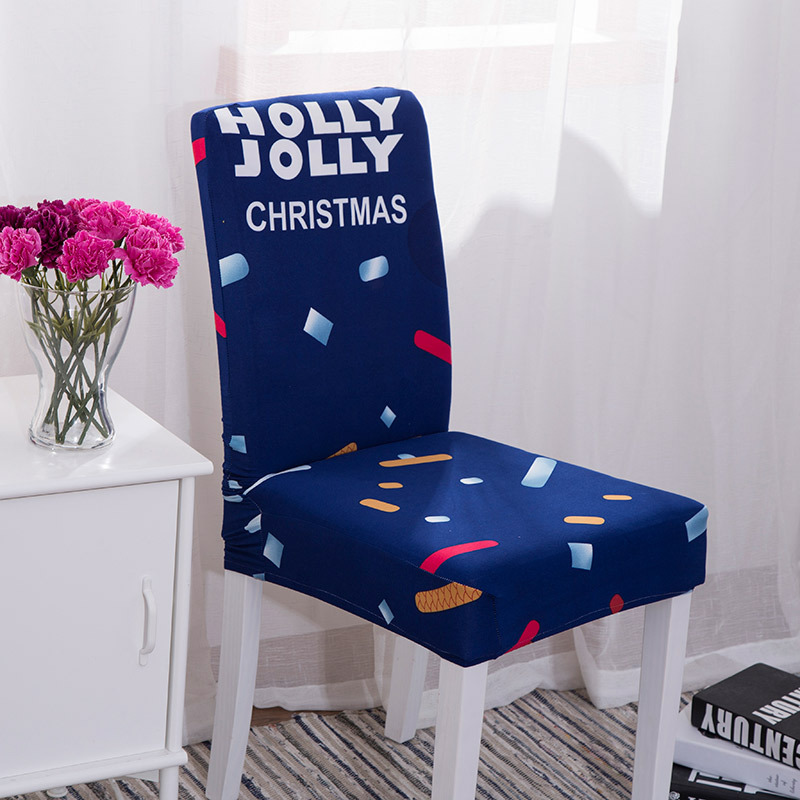 Cute Cartoon Removable Streched Chair Cover Spandex Elastic Slipcovers For Restaurant Kids Favor Dining Chair Seat Cover Case