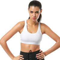 Triangle Grid Patchwork Tops Fitness Women Bra Cropped Tank Women Cropped Feminino Camisole Vest Female Regata