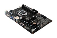 Hot Selling Factory Bitcoin Mining Motherboard With 6 PCI Slot And 1 PCI E 16