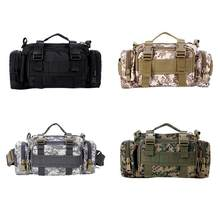 Outdoor sports riding hiking fishing photography camera bag tactical backpack Multifunctional camouflage 3P magic pockets(China)