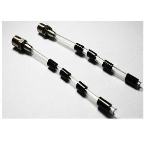 high quality rubber tube slave tubes+screw all plastic pusle(tube) for z-010 high pressure tornado gun car washer(2pcs/lot)
