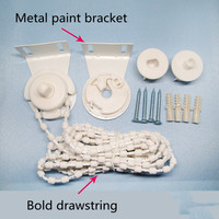 Rolling curtain accessories  iron head thickening rope  kitchen bathroom balcony office building zipper head