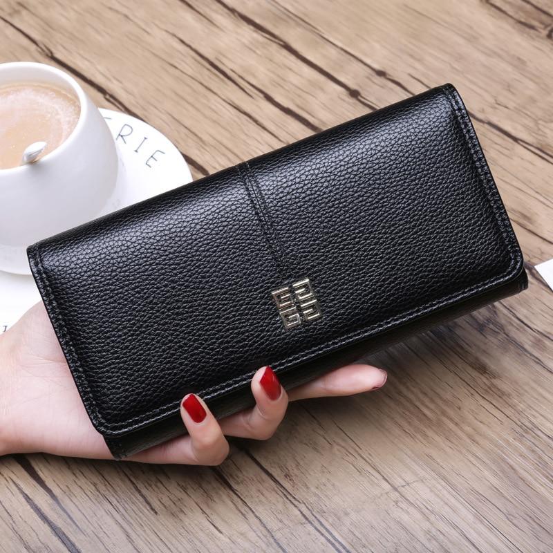 цена Women Wallet Purse Wallets Purses Portfel Damski Carteira Feminina Portefeuille Femme Porte Monnaie Portemonnee