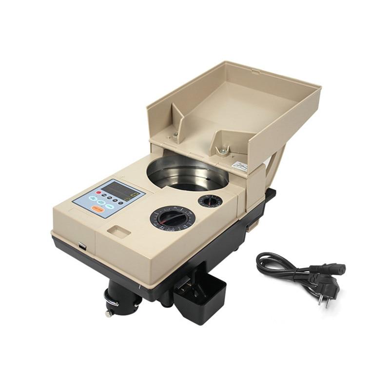 Машина для подсчета монет Электрический счетчик монет электронный сортировщик монет Superspeed цифровой подсчет монет Дисплей машины Muntenteller