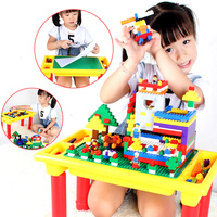 Multi Function Building Blocks Table For Small Bricks Foldable Desk Base Plate Compatible With legoed Gift For Children