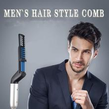 Get more info on the Quick Hair Styler for Men Professional Hair Comb Curling Iron Hair Volumize Flatten Side and Straighten Hair Curler Show Cap