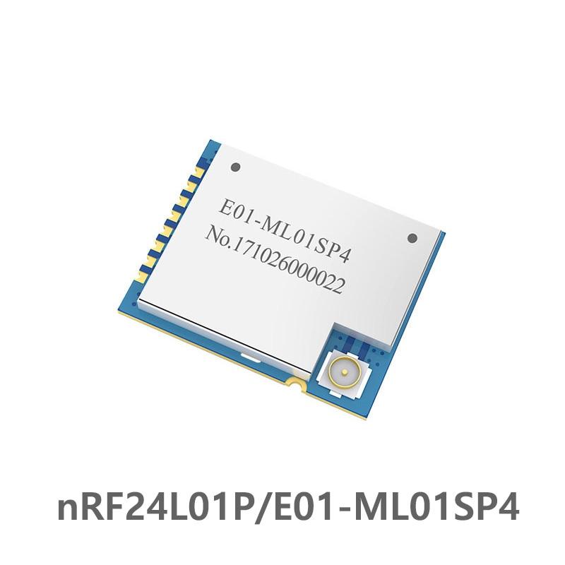 E01-ML01SP4 2.4GHz NRF24L01 PA LNA Wireless Rf Module Power Amplifier SPI SMD 2.4 Ghz Radio Rf Transmitter Receiver Long Range