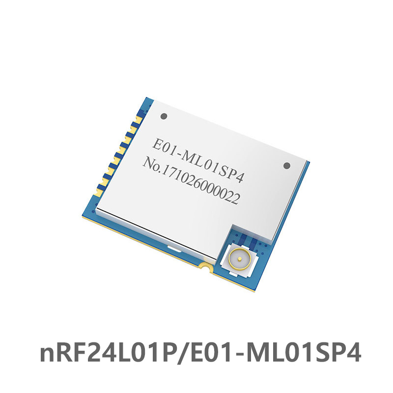 E01-ML01SP4 2.4GHz nRF24L01 PA LNA Wireless rf Module Power Amplifier SPI SMD <font><b>2.4</b></font> <font><b>ghz</b></font> Radio rf <font><b>Transmitter</b></font> Receiver Long Range image