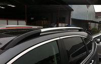 Черный + Щепка Багажники боковые ограждения Бары Чемодан носителя для Honda CRV 2012 2016