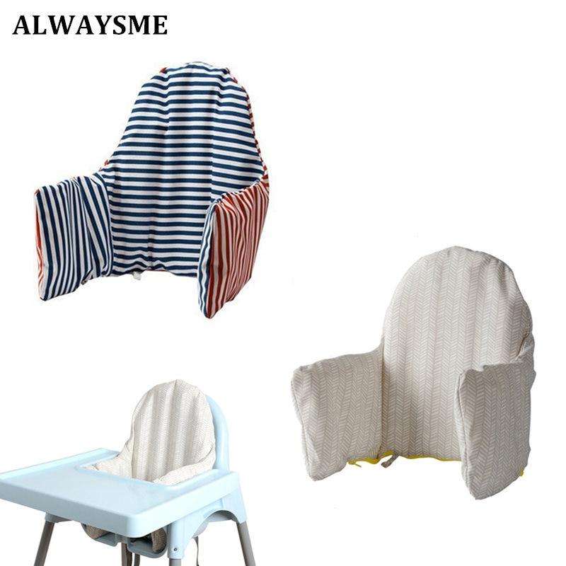Alwaysme almofada infantil, capa para cadeira de alimentação profissional, almofada