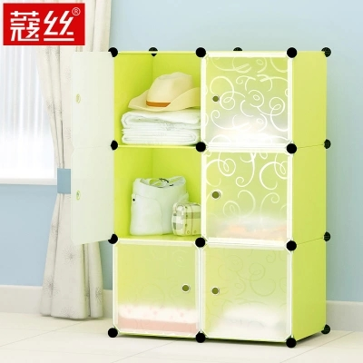 plastic storage cabinets with drawers plastic storage cabinet Cartoon toy clothes underwear storage box Simple combined