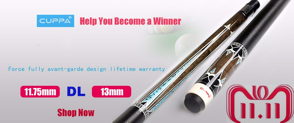 FURY Carbon Pool Cue Shaft Technology HTH STH CHT Form Shaft