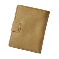 New Business Men Top Layer Leather Wallet With Multi Card Holders Coin Pocket Purse Hasp Designer