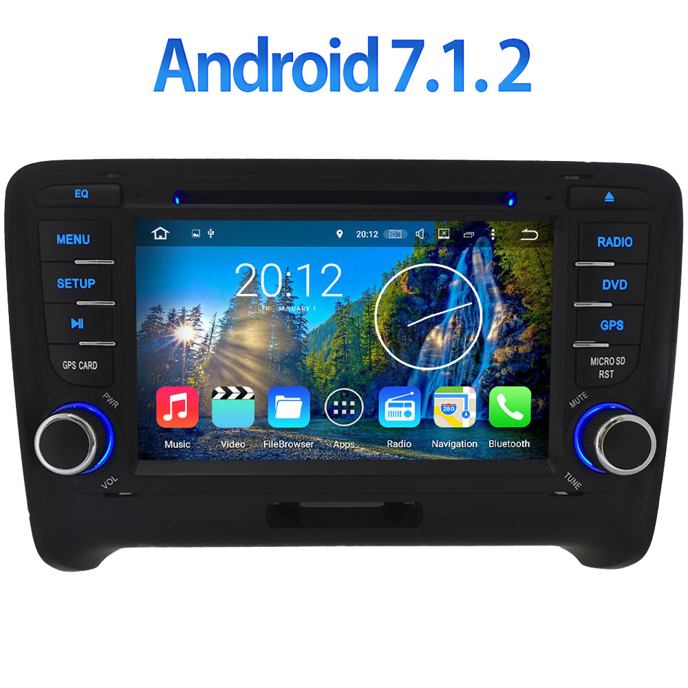 3G 4G WIFI 7 Android 7 1 2 2GB RAM DAB RDS BT Car DVD Radio