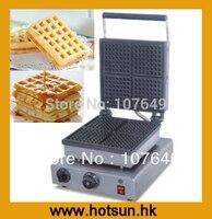 110V 220V Electric Belgian Liege Waffle Maker Baker Iron Machine
