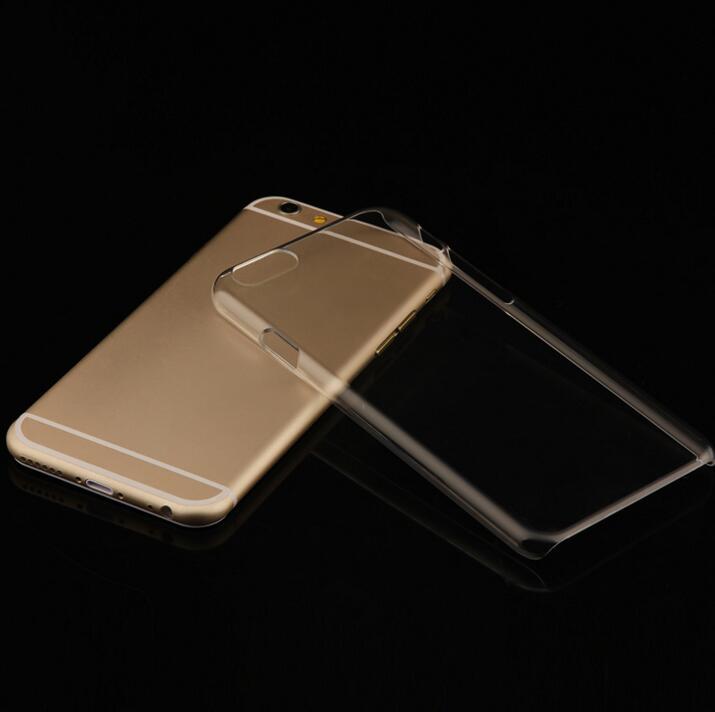 Hard Crystal Case for iPhone 7 8 Plus 6 6S 5S 5 SE 5C 4S Մաքուր - Բջջային հեռախոսի պարագաներ և պահեստամասեր - Լուսանկար 2