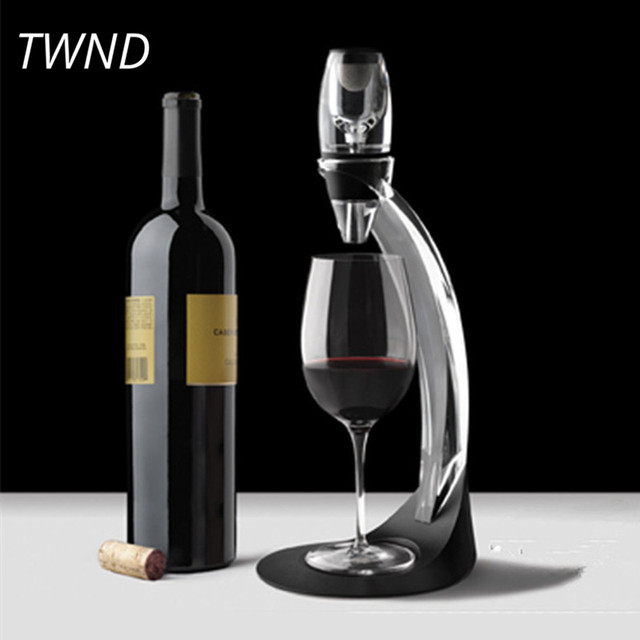 Fast Wine Decanter Set European Grape Acrylic Accessories Bar Tool