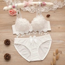 Japanese Lingerie Set Thin Embroidery