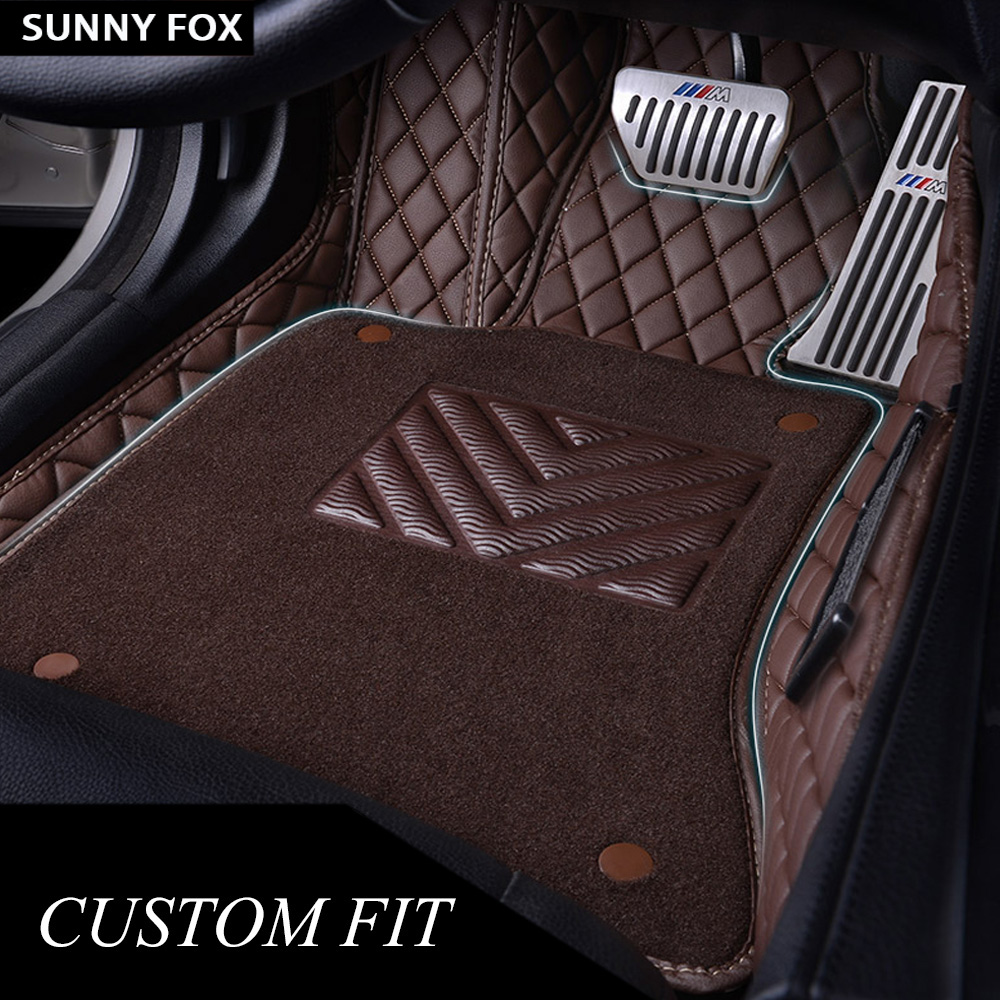 Car floor mats for Land Rover Discovery 3 LR3 Discovery 4 LR4 5D car styling rugs carpet floor liners(2004 present)