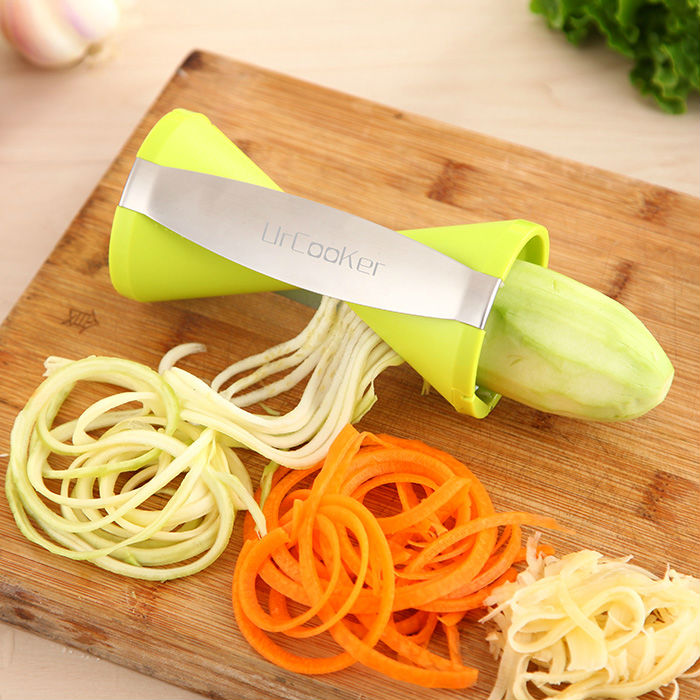 LATEST BEST SELLING 4 Blades Vegetable Spiralizer Spiral Vegetable Slicer Kitche