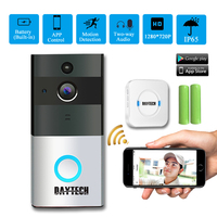 DAYTECH Wireless WiFi Video Doorbell Camera IP Ring Door Bell Waterproof Two Way Audio APP Control