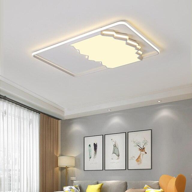 Postmodern LED Ceiling Light Fixture (rectangle)