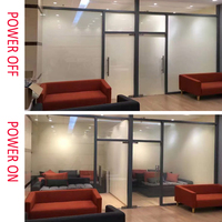 100x200cm Smart Switchable Film Magic Window Tint With Wires And Power Supply