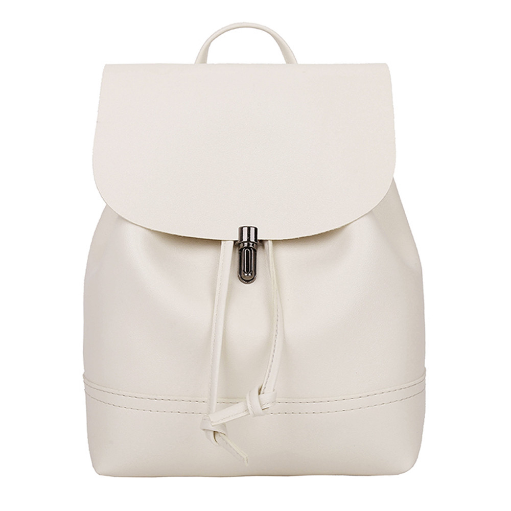 HTB10vvpa.CF3KVjSZJnq6znHFXaK - Casual Large Capacity Shoulder Bags Vintage Pure Color Leather School Bag Backpack Satchel Women Trave Shoulder Bag