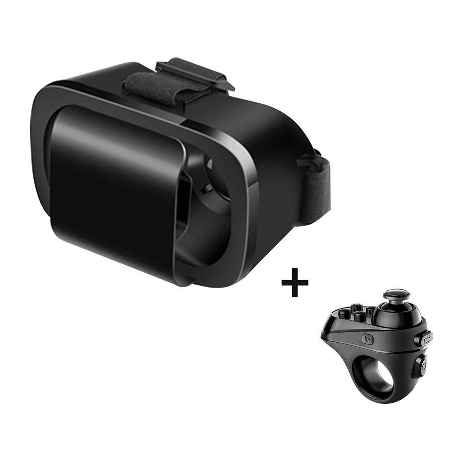 Bicchieri di Realtà virtuale VR 3D Google Cartone Auricolare per Android Samsung Smartphone Xiaomi Controller Bluetooth Gamepad