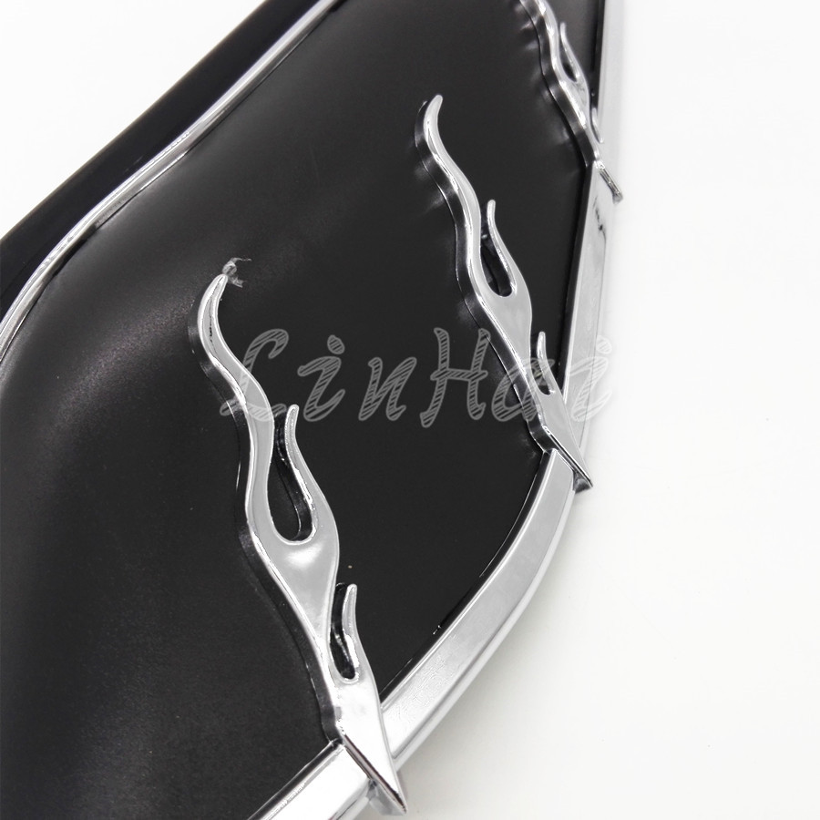 Covers & Ornamental Mouldings Motorcycle Airmaster Accents Trims For Mid-frame Air Deflectors Fit For Harley Touring Fl Models