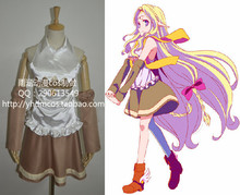 Anime No juego No Life Stephanie Dola Shiro Feel Niruvaren cosplay
