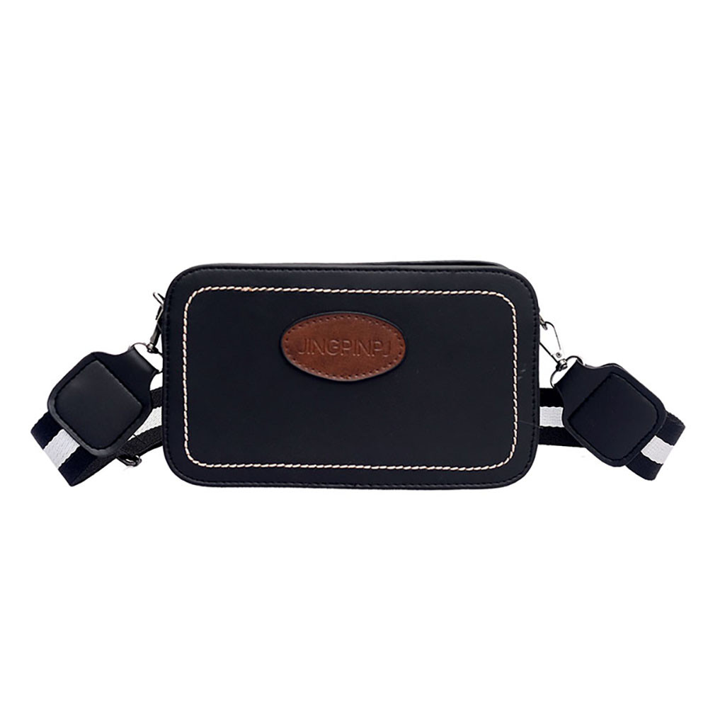 OCARDIAN Shoulder Bags Women Ins Small Bag Wild Retro Leather Messenger Bag Chic Wide Shoulder Strap Bag bolsa feminina 12OCT.29 messenger bag