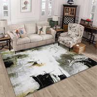 Style abstrait doux créatif tapis pour salon chambre enfant chambre tapis maison tapis plancher porte tapis zone tapis maison de mode