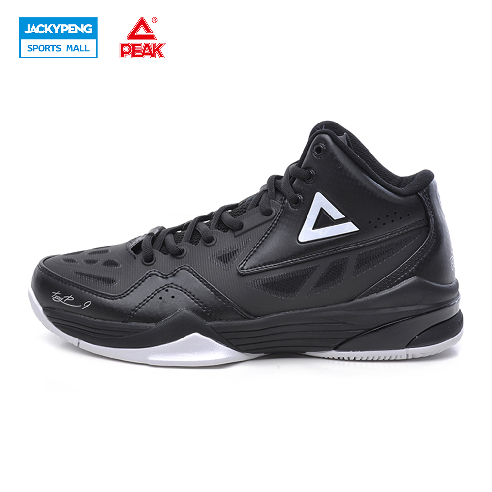 PEAK SPORT Tony Parker Exclusive Signature New Men Basketball Shoes Training Series FOOTHOLD Cushion-3 Tech Sport Boots EUR40-50 peak sport star series george hill gh3 men basketball shoes athletic cushion 3 non marking tech sneakers eur 40 50