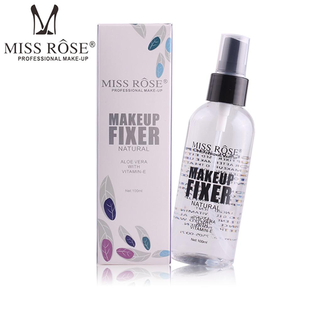 MISS ROSE 100ml Make Up Spray Fixed Face Foundation Bottle Setting Finish Makeup Mist Long Lasting Atomizing Cosmetics