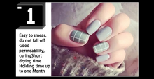 Grey Series LED Gel Varnish Hot Sale Nail Art DIY Design 12Colors 6ml VOG Soak off