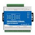 M140T IOT RTU модуль Modbus TCP Ethernet удаленный IO модуль 8DI + 8DO поддерживает высокоскоростной счетчик импульсов SCADA OPC