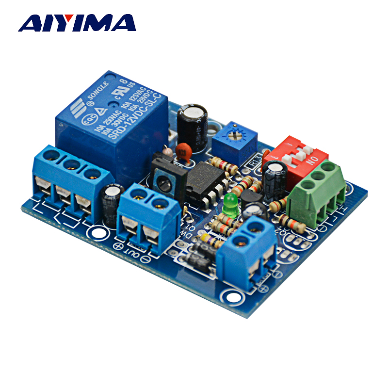 Aiyiam DC 12V PWM Trigger Monostable Delay Switch Relay Control Module Car NE555 Delay dc 12v led display digital delay timer control switch module plc automation new