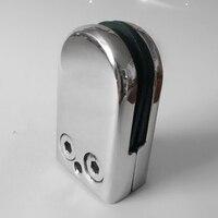 8X Stainless Steel Glass Clamp Holder For Window Balustrade Handrail 53 33 20 Mm Best Selling