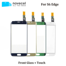 Фотография Touch Screen Digitizer For Samsung Galaxy S6 Edge G9250 G925 G925F Touch Sensor Glass Panel Replacement