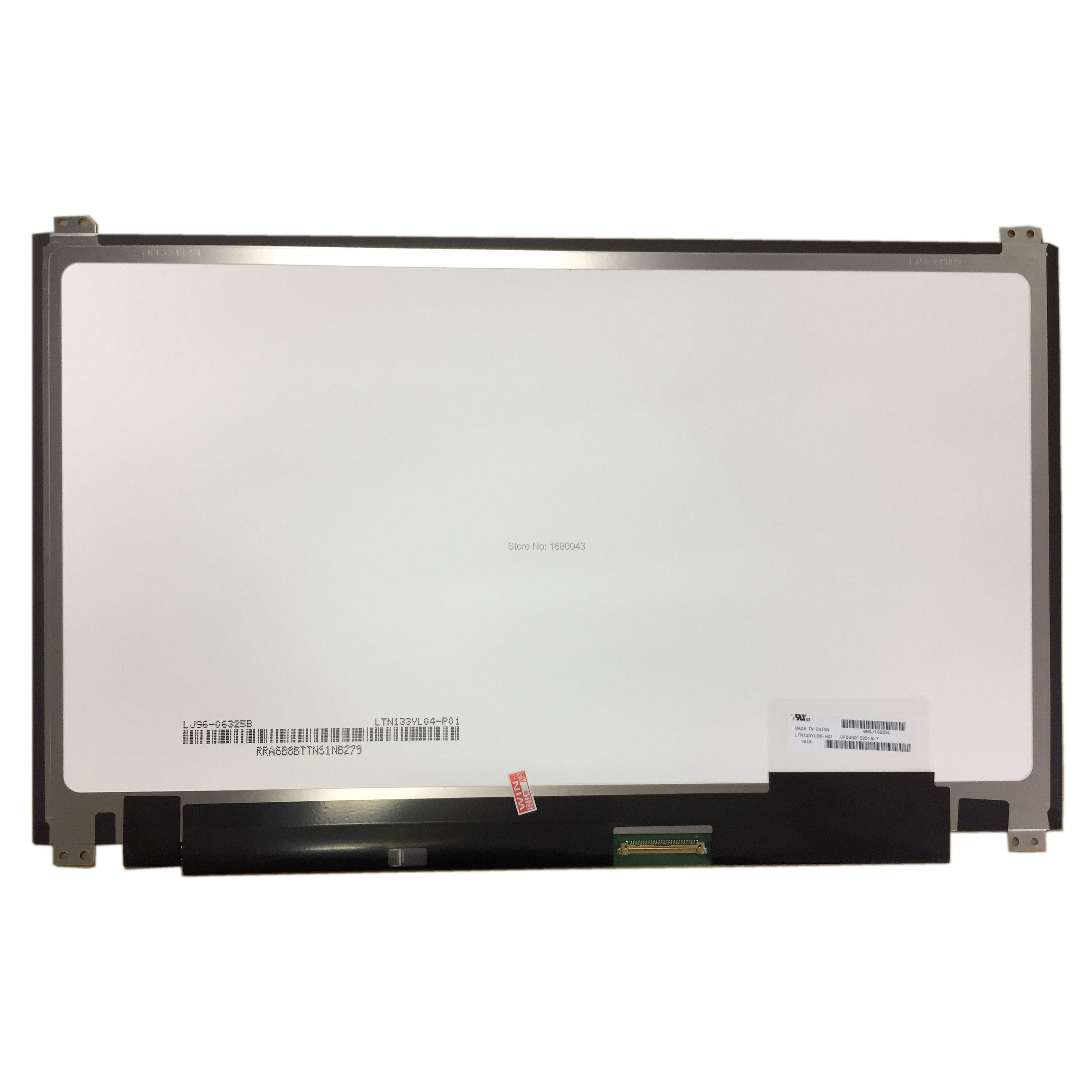 LTN133YL06 H01 LTN133YL06-H01 fit LTN133YL04 13.3 3K LED LCD Screen display IPS 3200x1800 OriginalLTN133YL06 H01 LTN133YL06-H01 fit LTN133YL04 13.3 3K LED LCD Screen display IPS 3200x1800 Original