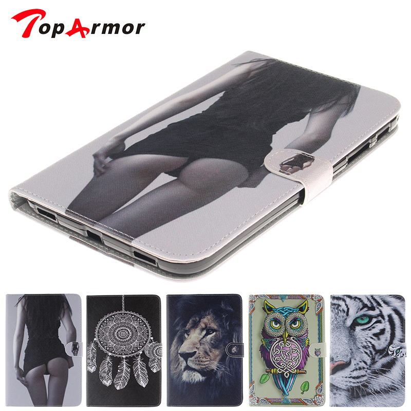 TopArmor T310 T315 Case Sexy Design Book Style Flip PU Leather Cover For Samsung galaxy tab 3 8.0 cases T310 T311 T315 tablet tx flip pu leather with soft tpu back cover card holder case for samsung galaxy tab 3 8 0 inch t310 t311 t315 tablet cases