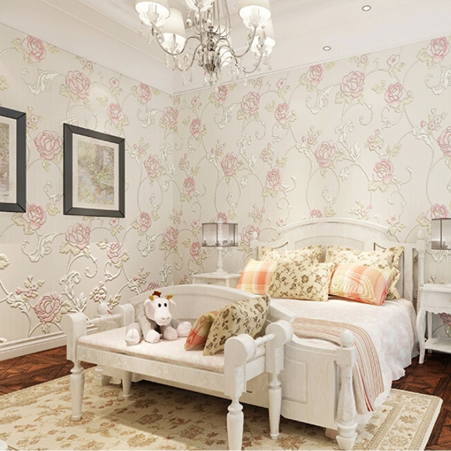 rose flower super 3d wall murals wallpaper  for warmth bedroom wall decor  papel de parede rosas 63 rose de mai