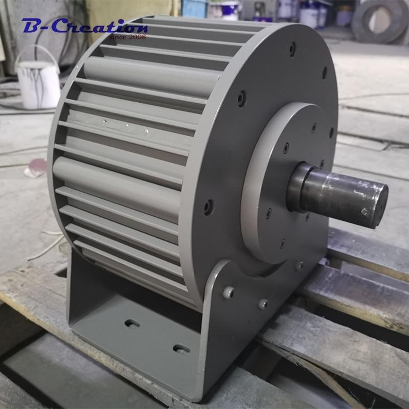 Prezzo di fabbrica 3000 w/3KW 220 v 360 v ac terre rare a basso NUMERO di GIRI generatore a magnete permanente per la casa uso
