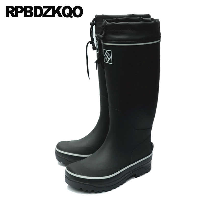 7663ed75dd4 Cheap Rubber Fishing Boots Men Non Slip Rainboots Plus Size Pvc Tall ...